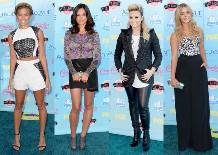 Renee Bargh, Alexis Knapp, Demi Lovato e Sasha Pieterse
